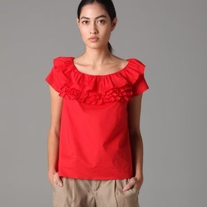 Marc by Marc Jacobs Highlight Ruffle Top- NWOT